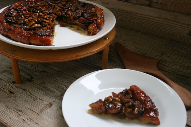 Fig-Pistachio Tart