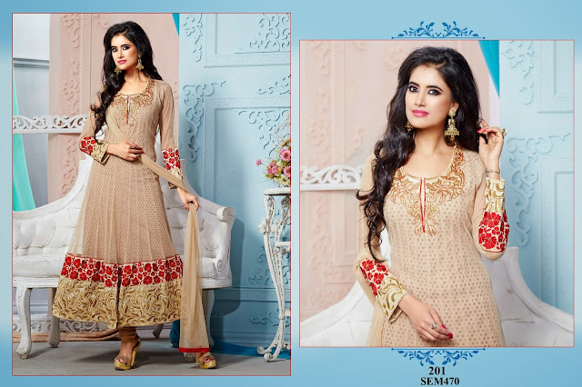 Purchase Beautiful Designer Georgette Anarkali Suit Collection