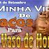 DE CACO PARA VASO DE HONRA