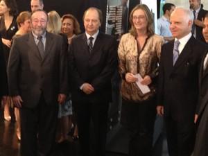 Ministra Maria do Rosário participou de evento sobre o Holocausto no Senado nesta segunda-feira (8). (Foto: Amanda Lima)
