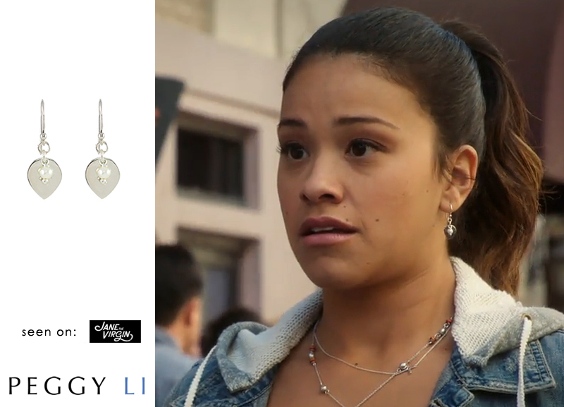 Jane the Virgin pearl earrings