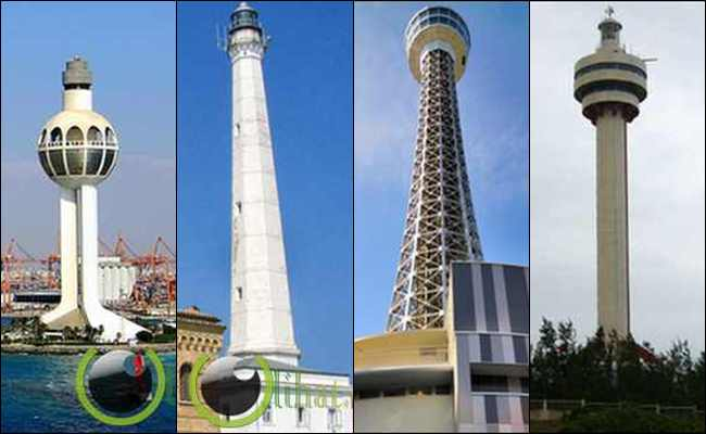 10 Bangunan Mercusuar yang paling Tertinggi di Dunia