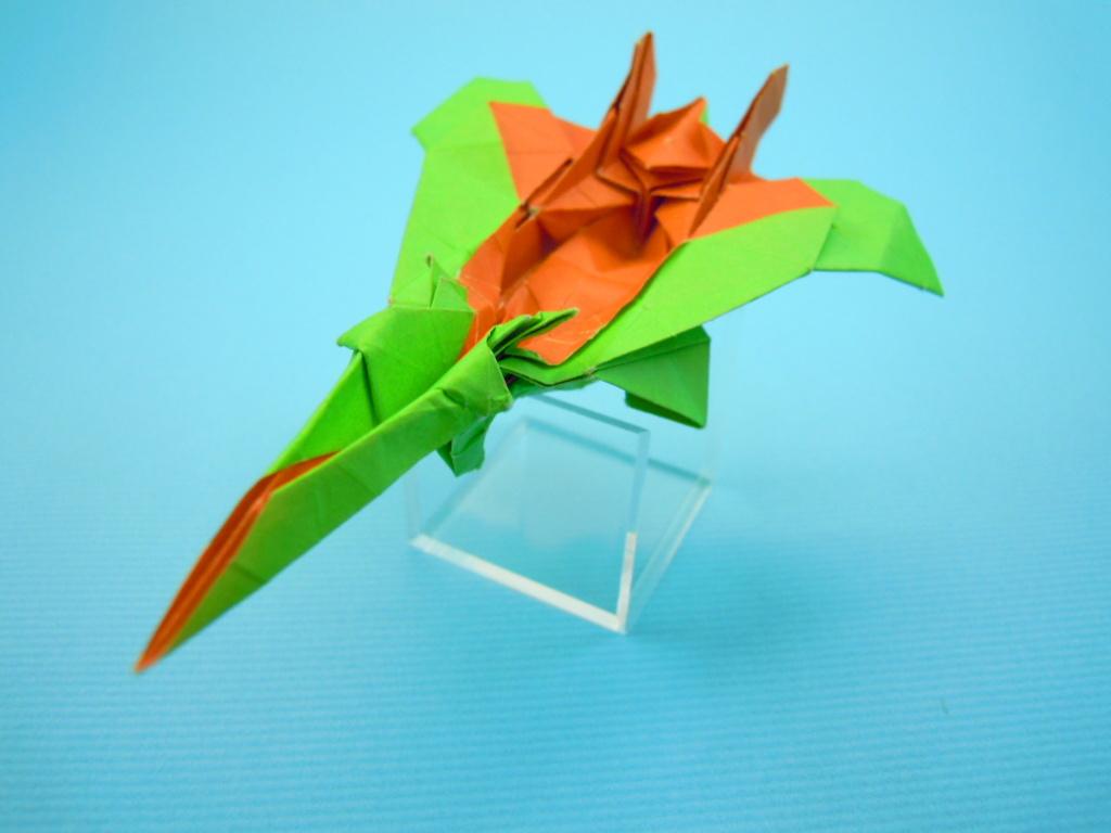 すべての折り紙 折り紙手芸 鶴 作り方 : 折り紙 の 進 工房 h23 2 折り紙 ...