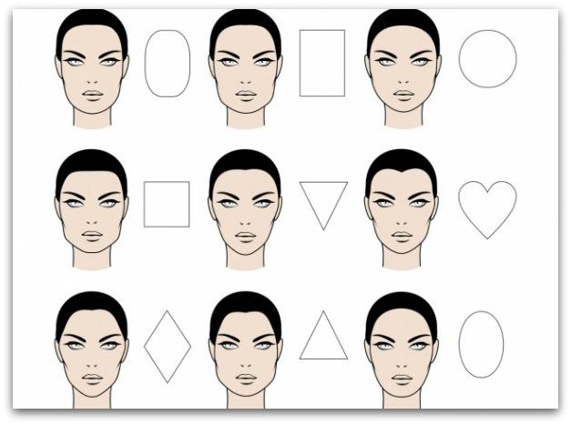 Peinados para mujeres según la forma del rostro Diariofemenino - Tipos De Peinados Segun Tu Cara