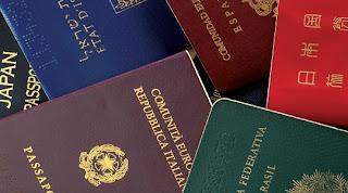 Documentos necessários para tirar o passaporte