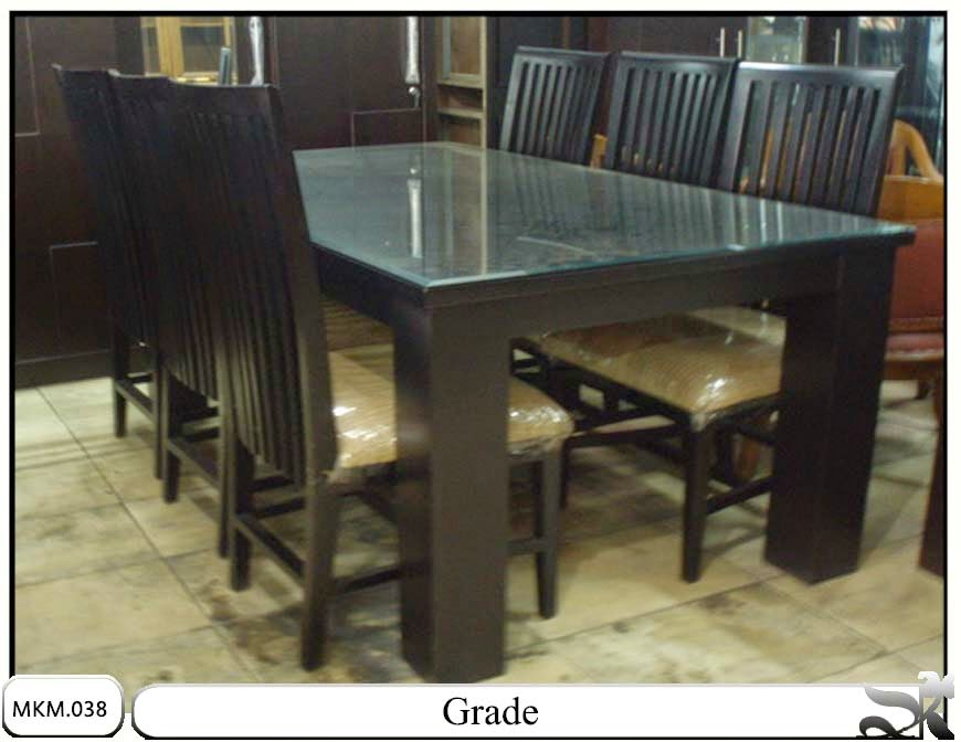 Meja dan kursi makan minimalis grade