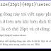 Cỡ chữ và cỡ dòng trong Latex