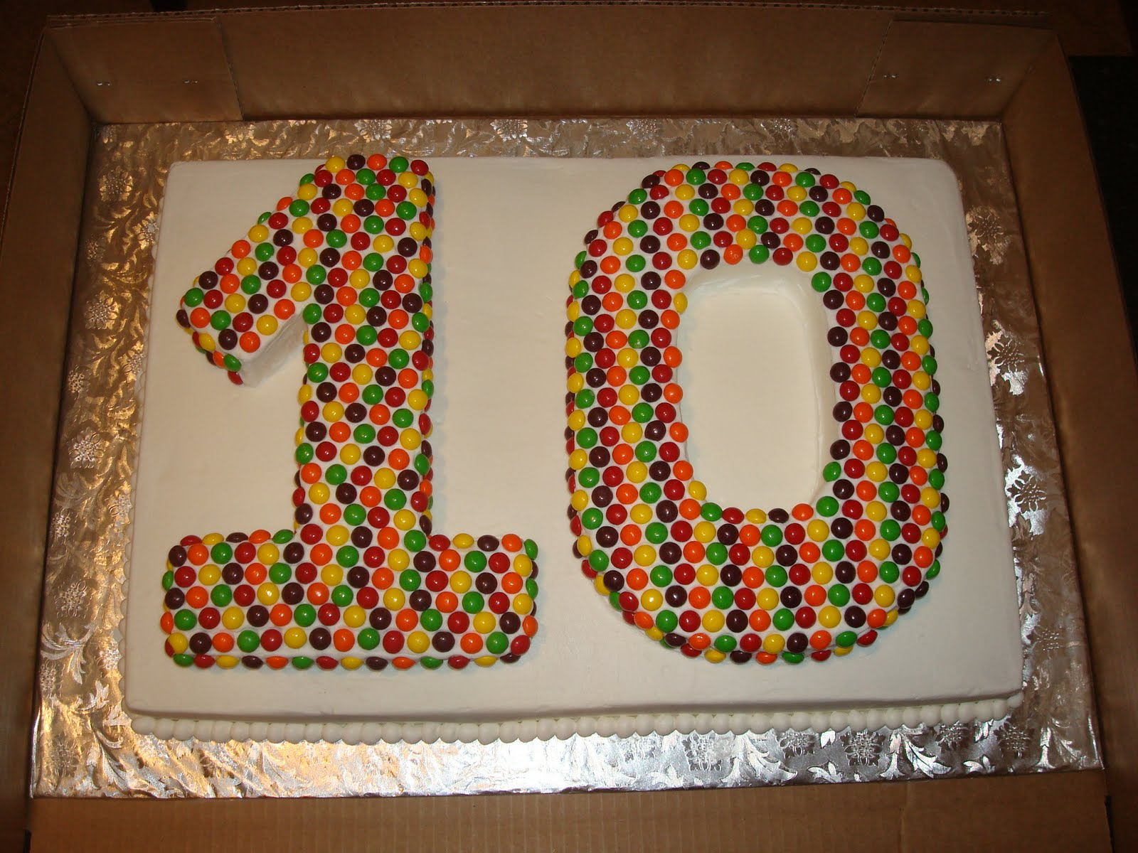 Sugar Boo Sweets Happy 10th Birthday Justice