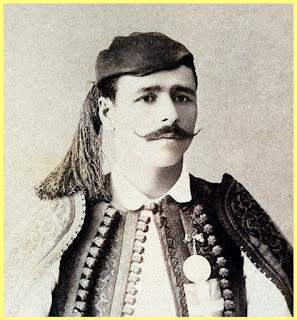 Retrato de Spiridon Louis