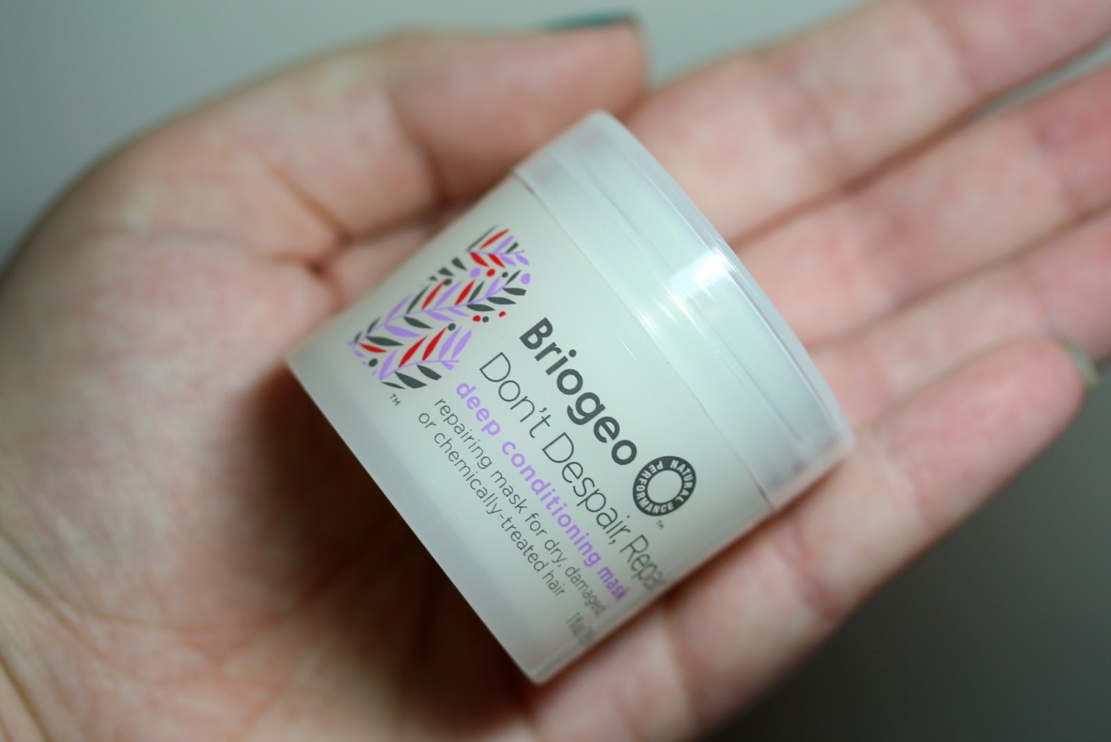 Ipsy Glam Bag January 2014 - First Impressions - Briogeo Don't Despair, Repair! Deep Conditioning Mask | Manicurity.com