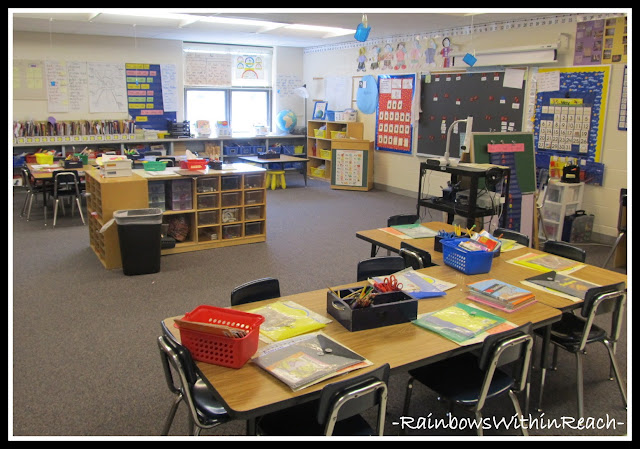 Classroom Decor Details (RoundUP of Class Decor at RainbowsWithinReach)