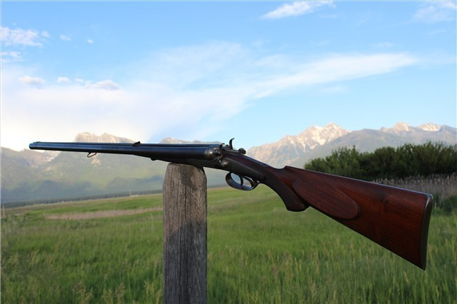 Rifle Shotgun Ferlach Austrian Combination Cape Gun