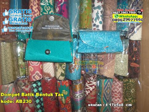 Dompet Batik Bentuk Tas jual