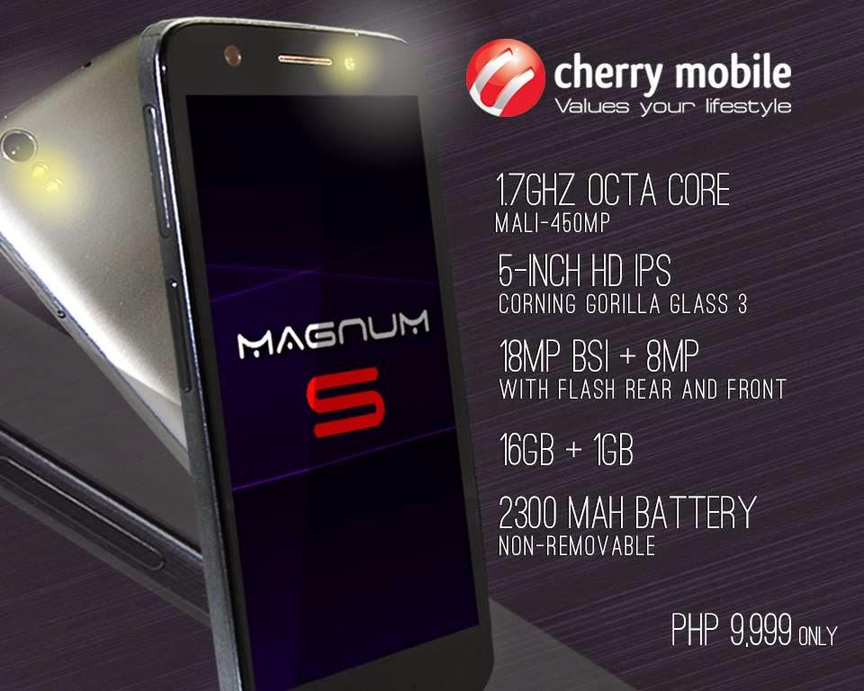 Cherry Mobile Magnum S - Octacore Processor