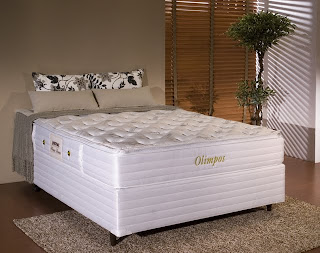 Cama Box Queen Olimpos Herval