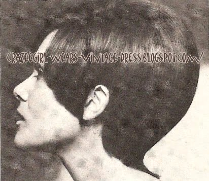 60s haircut - 1969 1960 hair style mod
