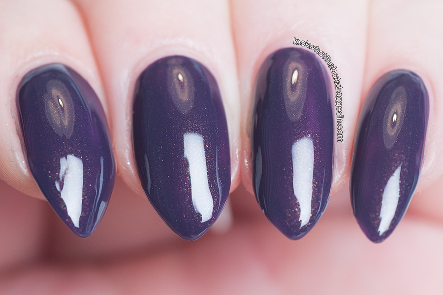 Arcane Lacquer Dusk Dismantled nail polish swatch