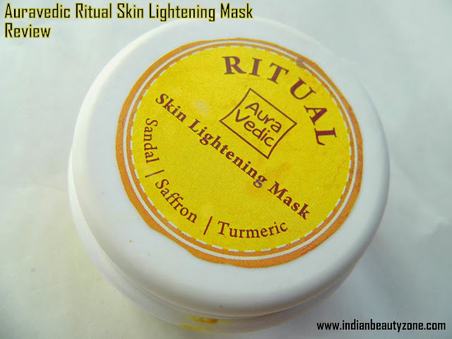 Face mask for skin lightening
