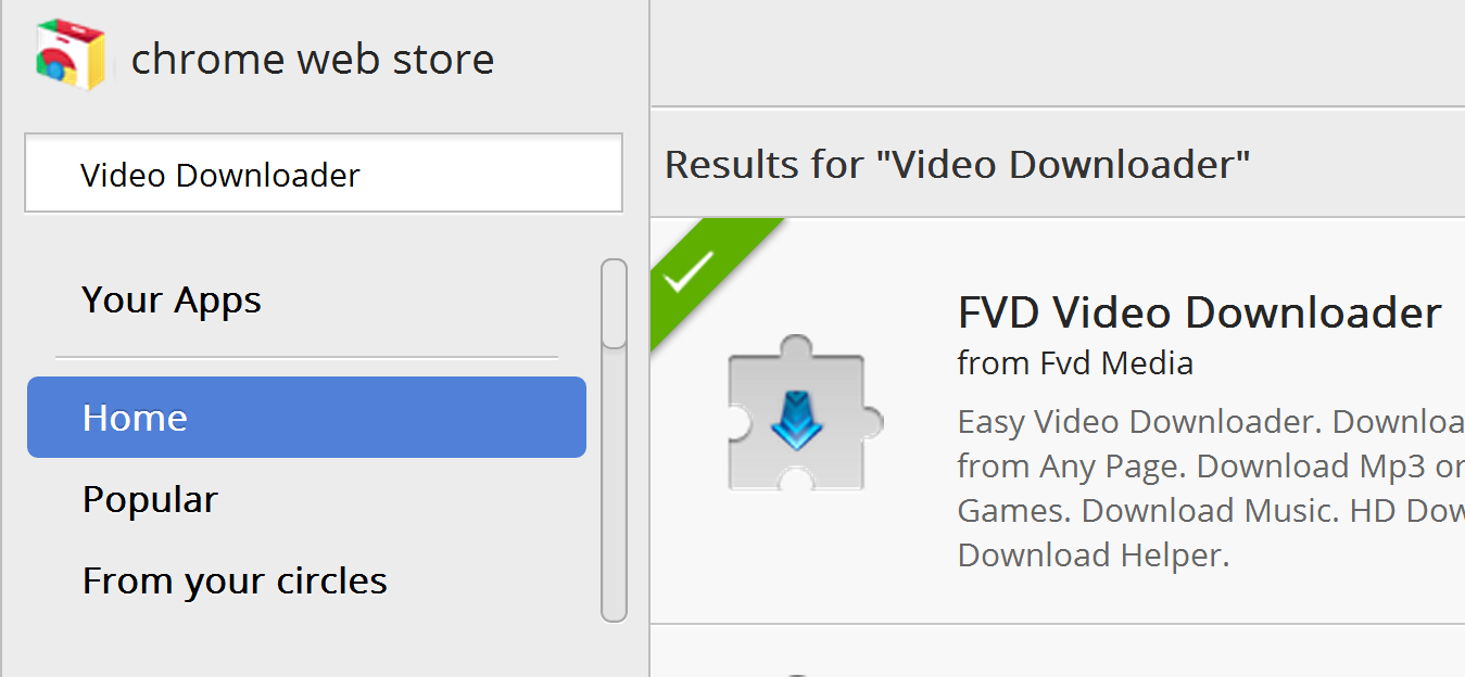 Once You Find The Fvd Video Downloader Add It To Google Chrome