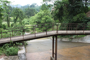One of 2 bridges to Uncle Hồ's house