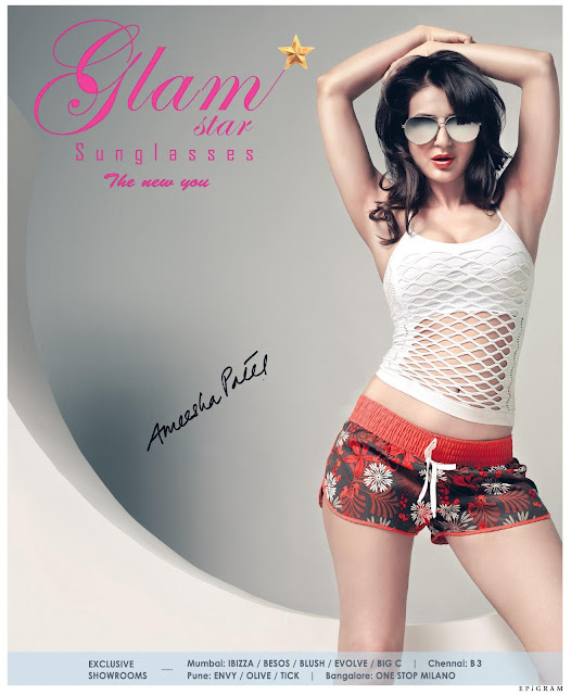 Hot Ameesha Patel Glamstar Ads