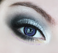 Angel Contacts Angel Violet Hurricane Gray Review