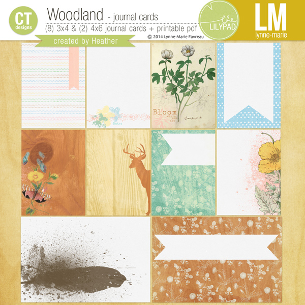 Woodland Journal Cards by Lynne-Marie and Heather Greenwood