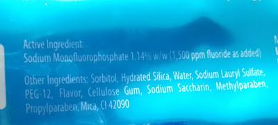 toothpaste ingredients DIY homemade toothpaste
