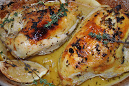 Barefoot Contessa's roasted lemon chicken