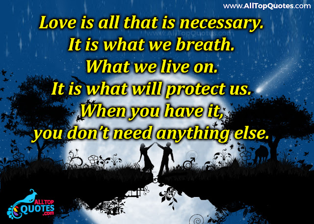 Love Is Everything Awesome Quotes In English With Wallpapers Free Download