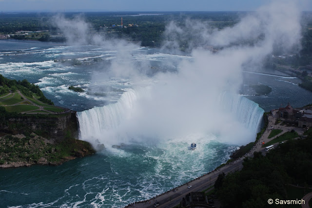 HorseShoe Falls from Skylon Tower