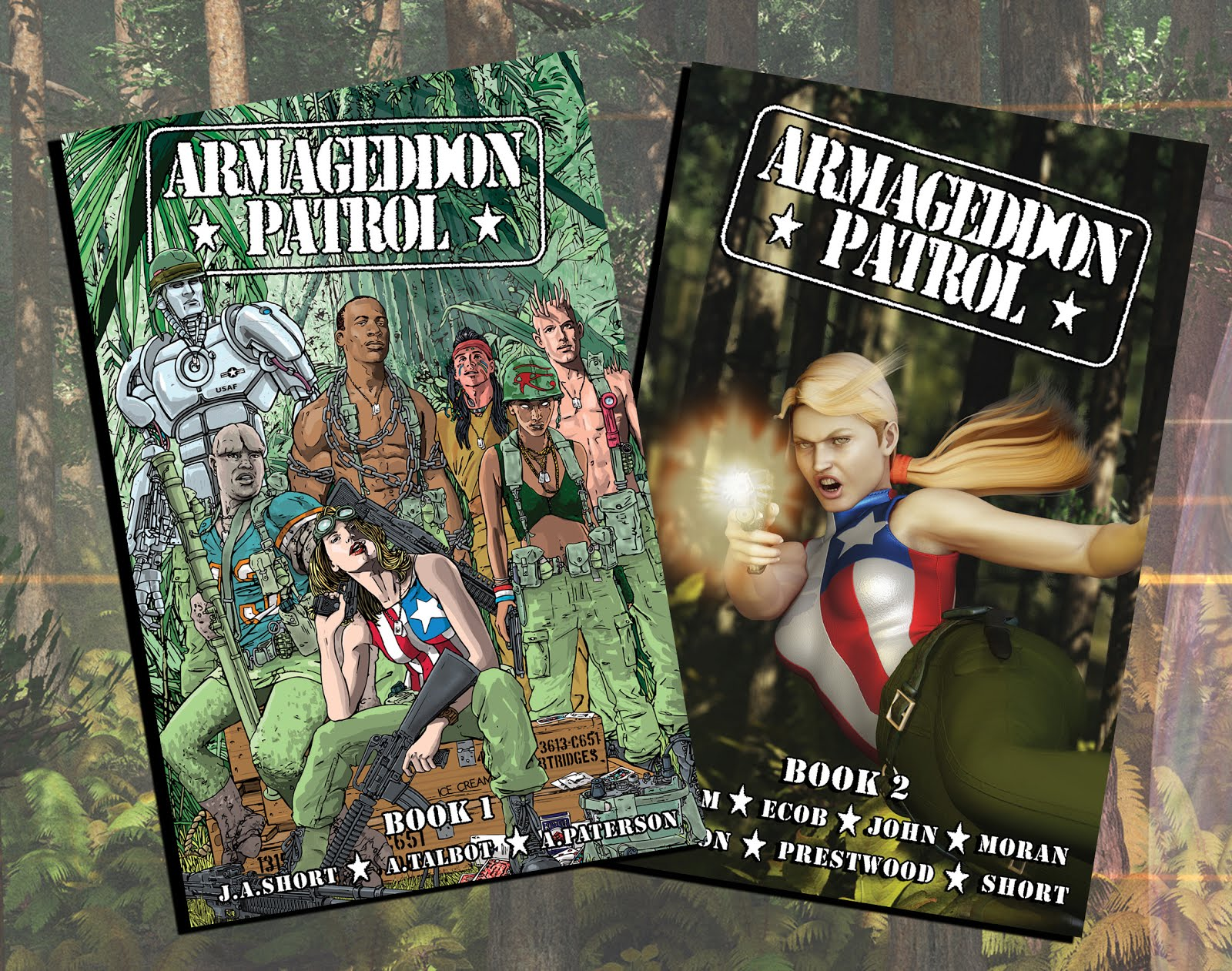 Buy ARMAGEDDON PATROL BOOKS 1 + 2 TOGETHER below!