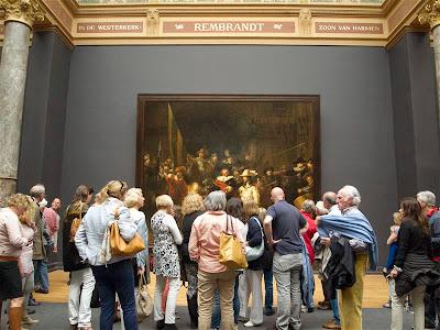 """""""La ronda de noche"""" (1642) de Rembrandt"""