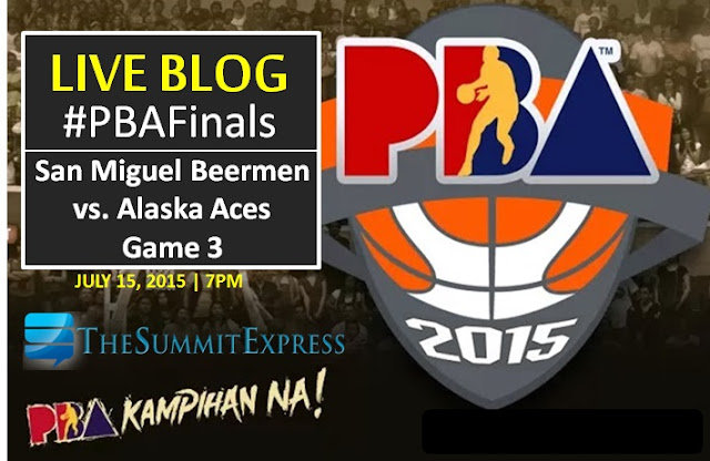 San Miguel Beermen vs. Alaska Aces PBA Finals Game 3