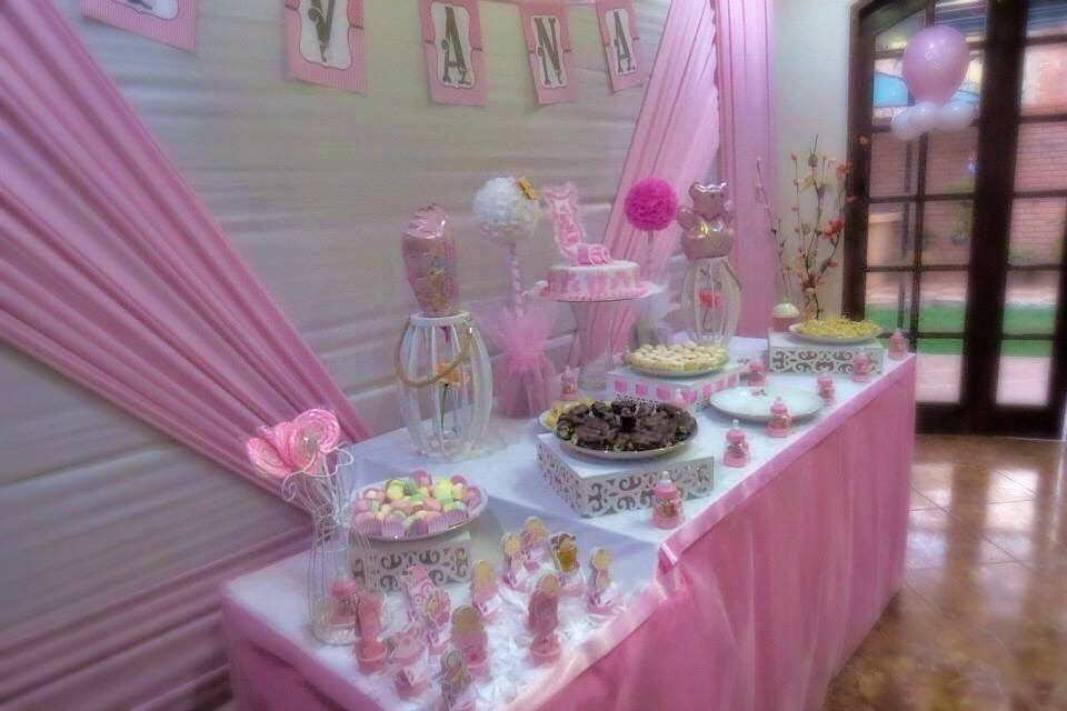 Decorci n baby shower ni o ni a recuerdos juegos for Mesa baby shower nino