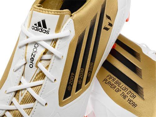 nuevas botas de Messi Balón de Oro Adidas adizero F50