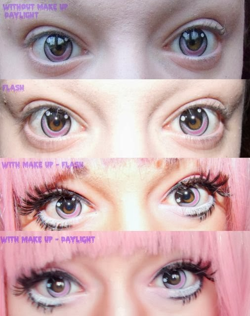 Cosplay Happy Anime Eyes With Geo CPA 6 Lenses