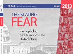 Cover laporan CAIR tentang Islampohobia