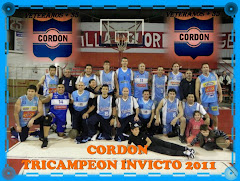 VETERANOS +35 CORDON TRICAMPEON.