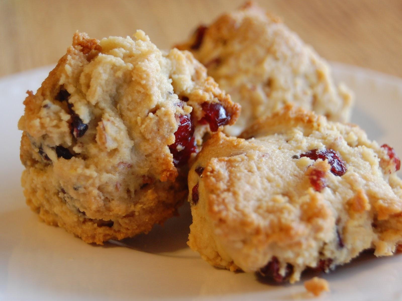 The Nourishing Homemaker: Cranberry Orange Scones Recipe