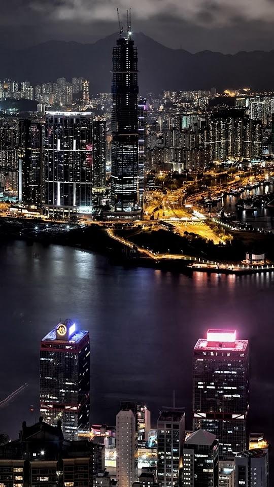 Taipei 101 Taiwan City Night View  Galaxy Note HD Wallpaper