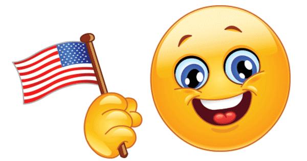 patriot smiley