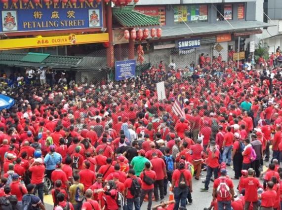 Isu menteri kantoi taja Himpunan Baju Merah