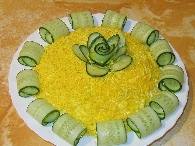 Рецепты салатов красиво оформленных