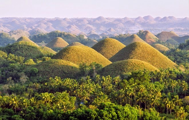 Isola di Bohol   Chocolate Hills  (Filippine)