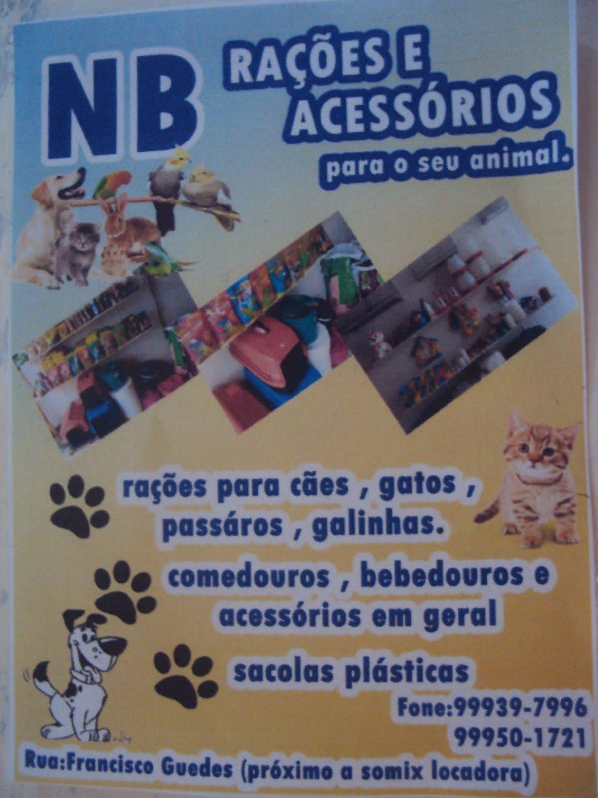 Em Mari/PB, você tem NB Rações para animais, a loja mais barata da cidade
