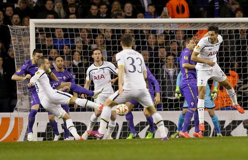 Liga Europa : Menanti Laga Fiorentina vs Tottenham Hotspur