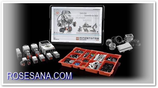 Robot Indonesia 45544 Lego Mindstorms Education Ev3 Core Set