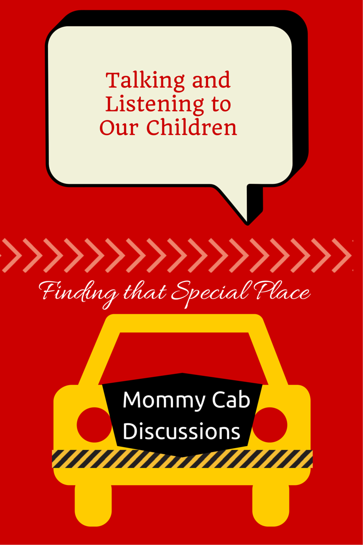New Series on Blog: Mommy Cab Discussions