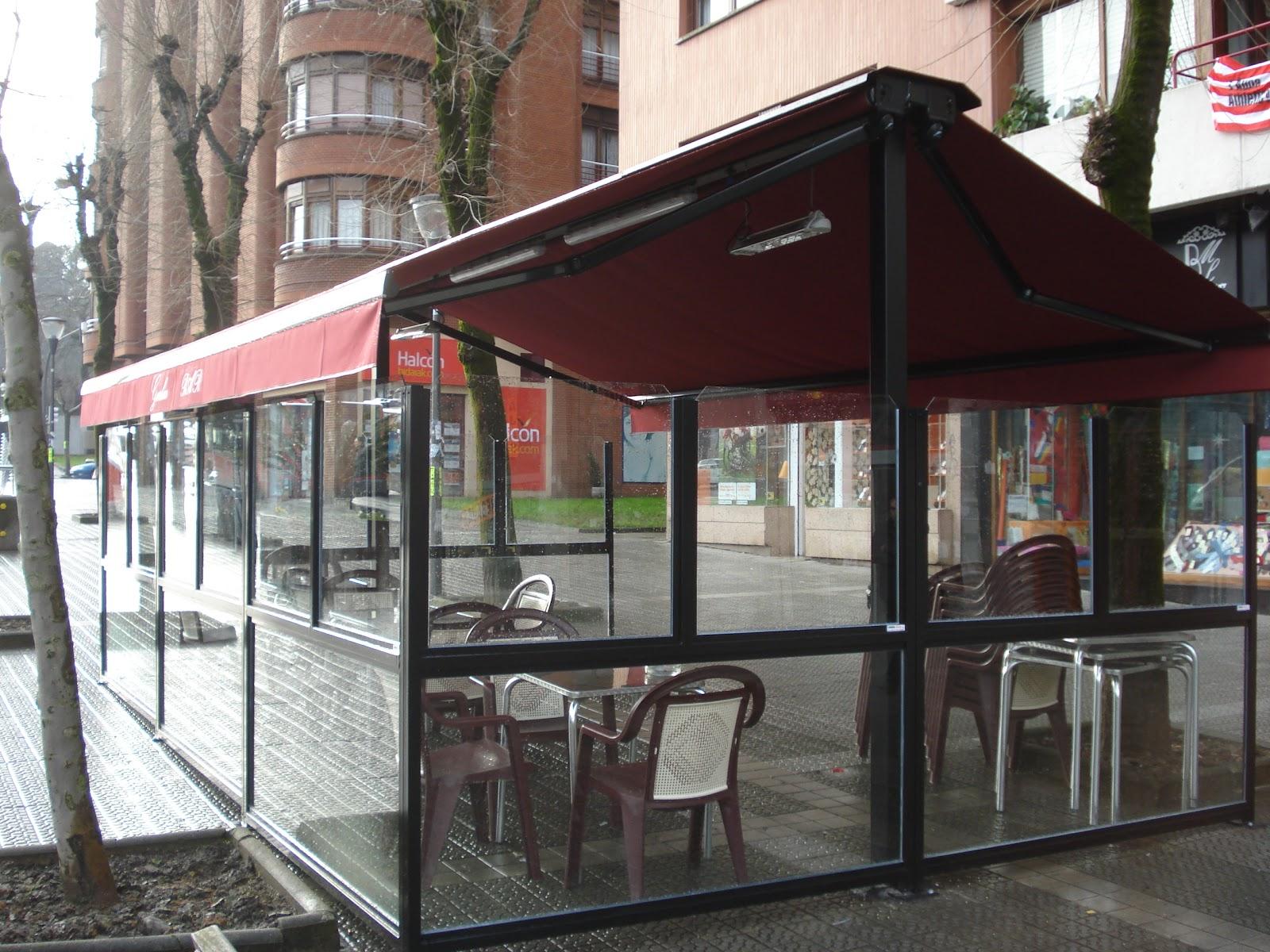Terrazas climatizadas para hosteleria - Cortavientos terraza ...